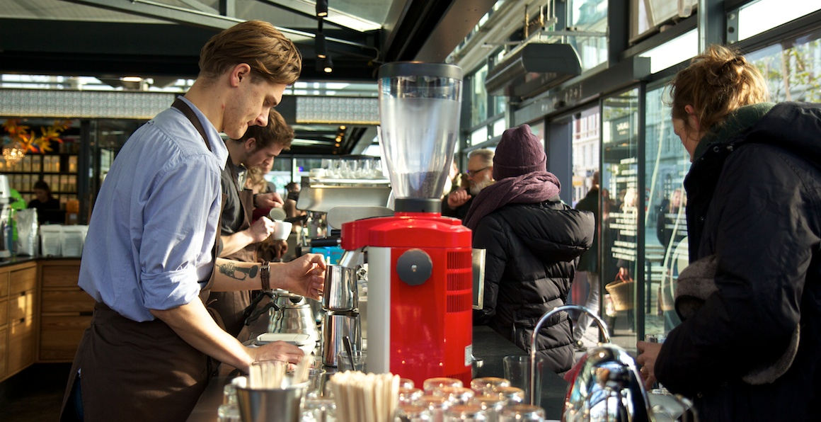 Coffee Collective in the Torvehallerne - Version 2